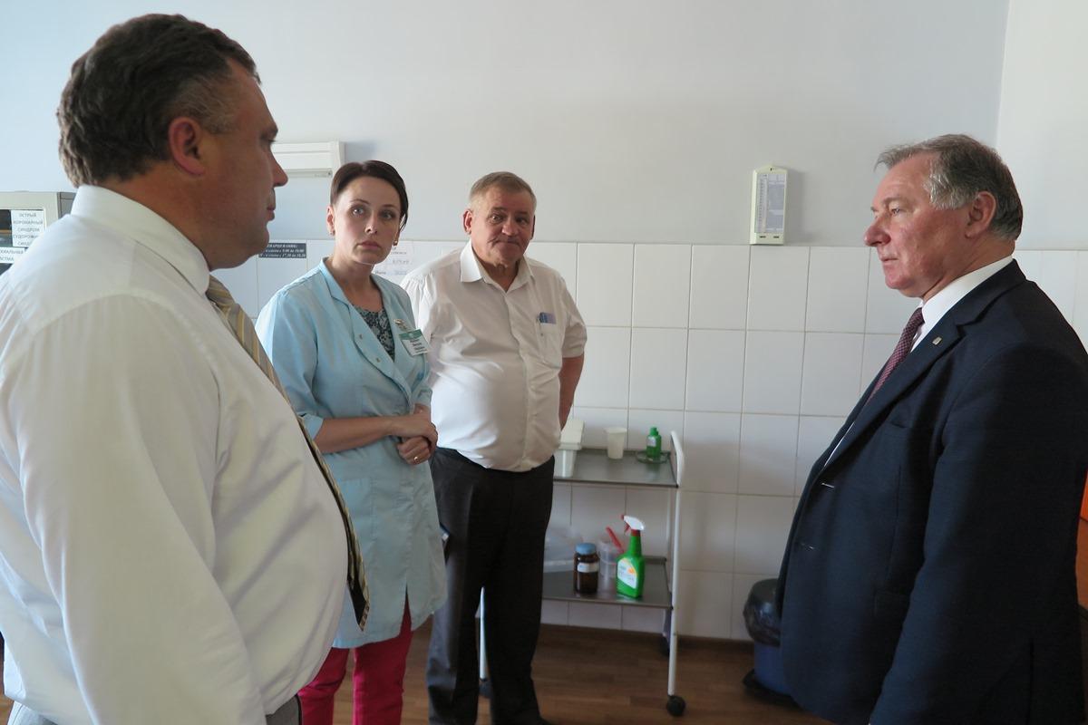 Как прошел рабочий визит заместителя председателя облисполкома в Борисов