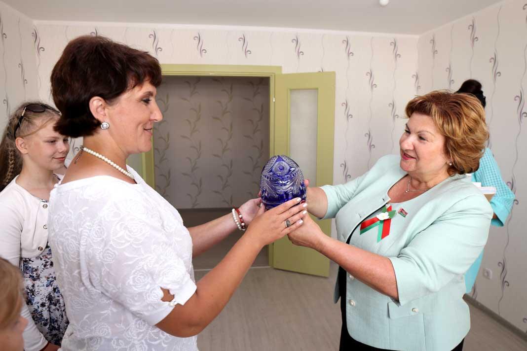 Ключи в счастливую жизнь получили борисовчане в День города