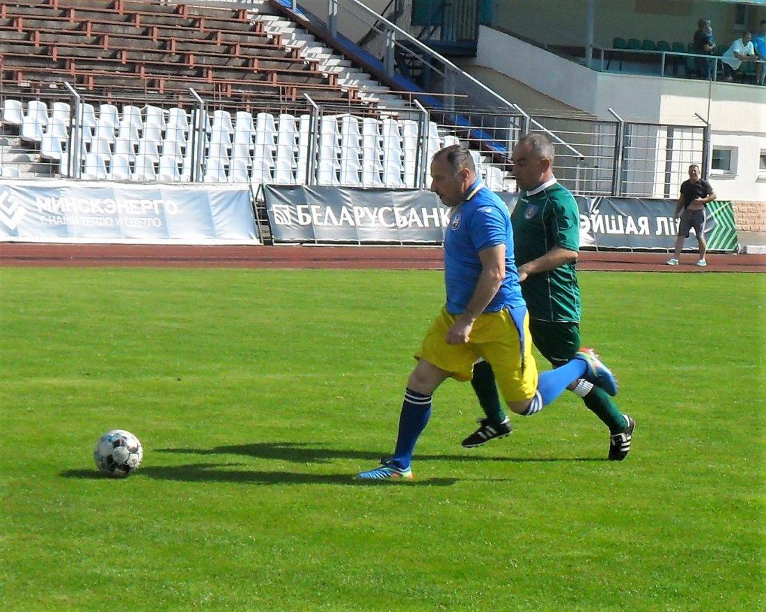 Молодечно выиграло у Борисова в полуфинале Кубка Минской области по футболу среди ветеранов