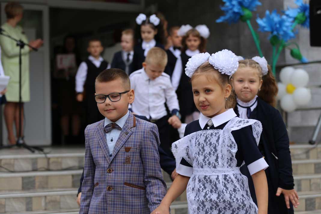 Учебный год начался с общения с председателем Борисовского райисполкома
