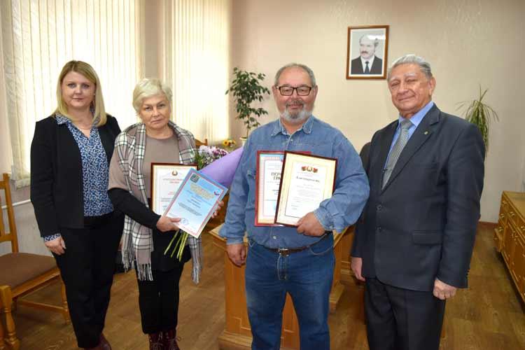 Борисовчан наградили за спасение девочки