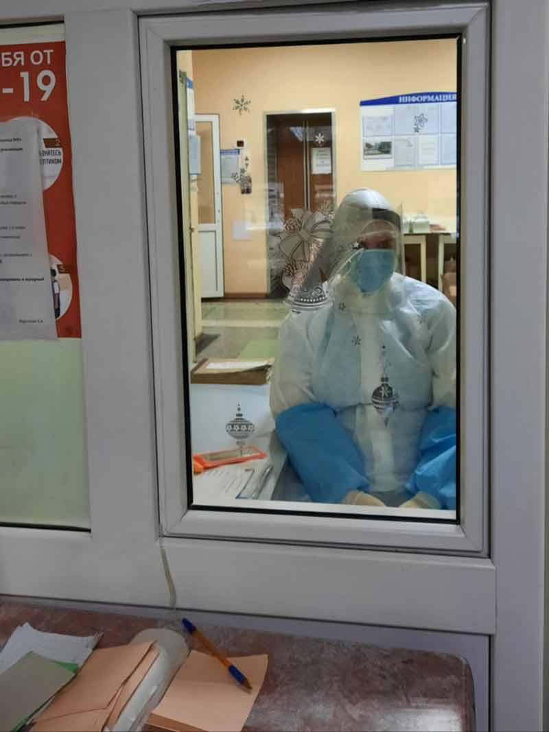 Александр Шипуло поддержал врачей, которые борются с Covid-19