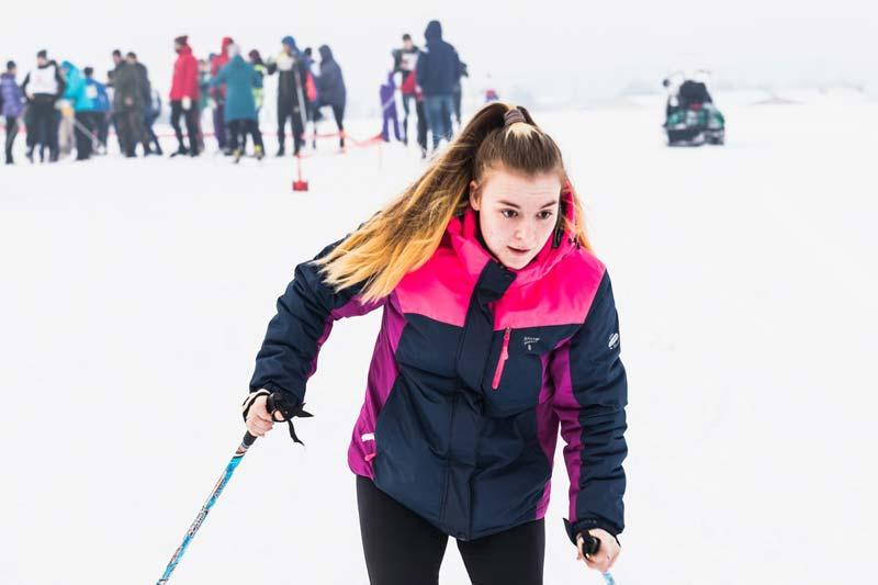 Двухдневный районный чемпионат по лыжным гонкам стартовал в Борисове