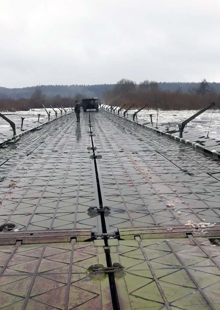 Военные инженеры в деле: переправа через Березину