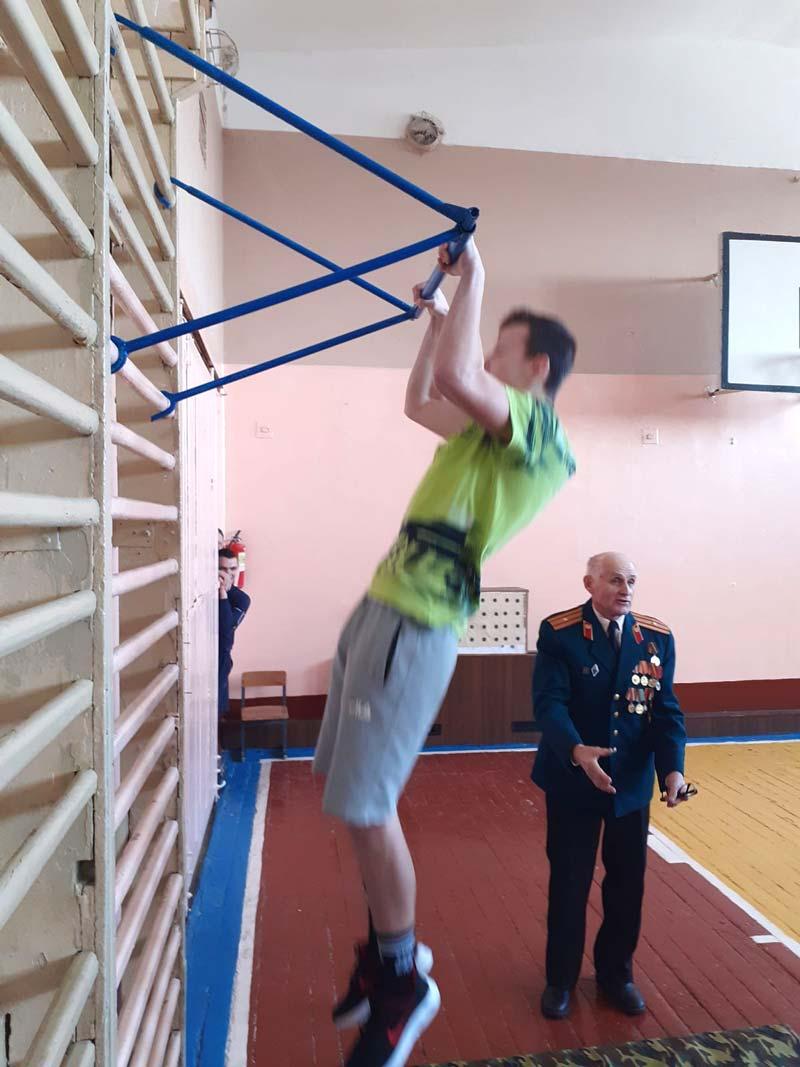 В средней школе №9 г. Борисова прошел День призывника