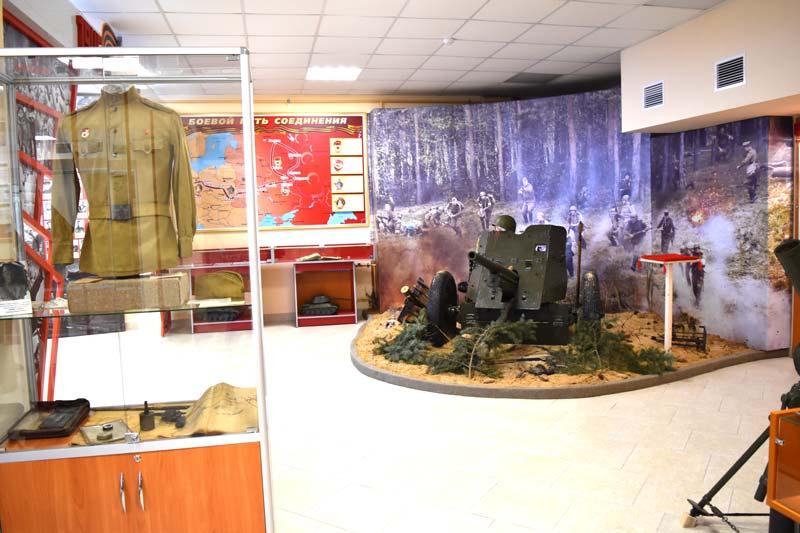 В Печах открылся обновленный музей Боевой Славы