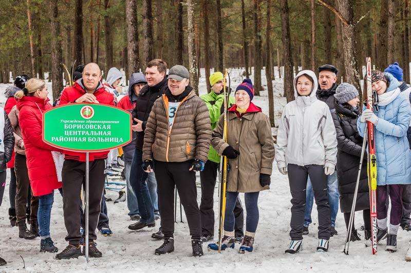 В Борисове определили призеров лыжной туристской эстафеты