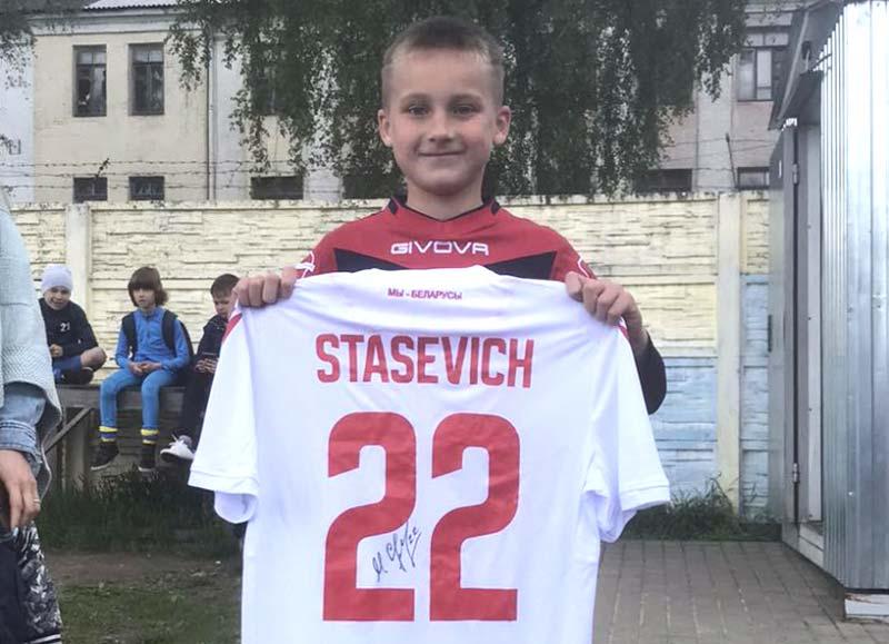 Команда БАТЭ 2010 года рождения — победитель футбольного турнира в Борисове