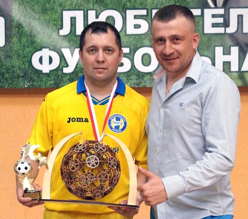 Мини-футбольная команда Борисовского ГРОЧС — лучшая по итогам весеннего розыгрыша любительской лиги