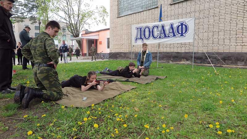 Районный этап республиканской военно-патриотической игры «Зарница» прошел на базе 72-го ОУЦ