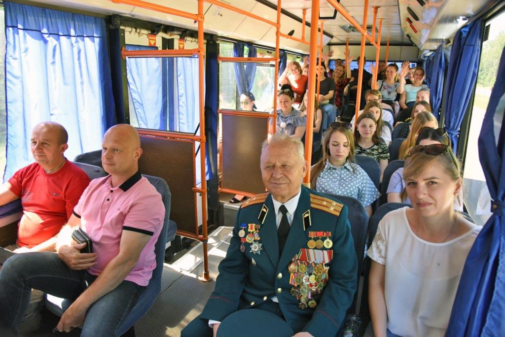 Международный автопробег встретили в Борисове