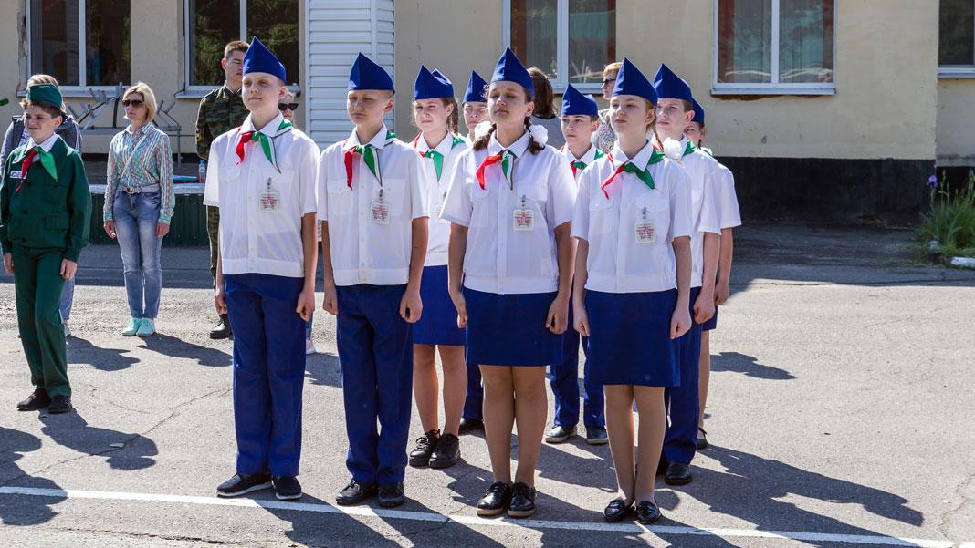 Юнармейцы из Борисова пробились на «республику»
