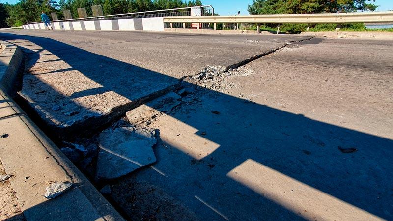 Ещё один мост пришёл в непригодность в Борисове