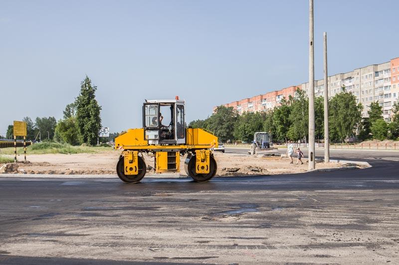 К 1 июля в Борисове планируется открыть транзитное движение по главной автомагистрали