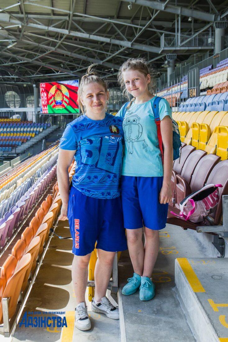 Молодежный челлендж «Народная зарядка» стартовал в Беларуси. Не остались в стороне юные «зожники» Борисовщины
