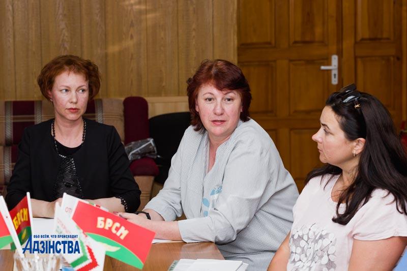 Очередная диалоговая площадка на базе редакции была посвящена студотрядовскому движению в Борисовском районе