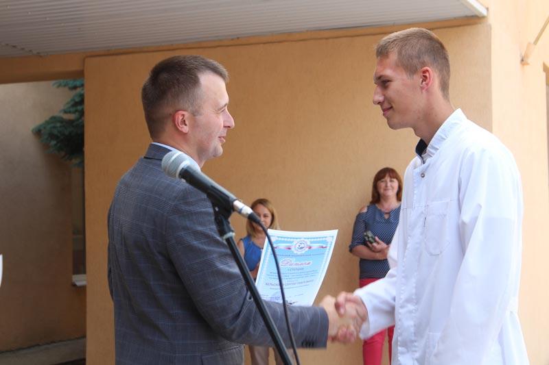 В Борисовском медколледже подвели итоги учебного года и наградили лучших учащихся