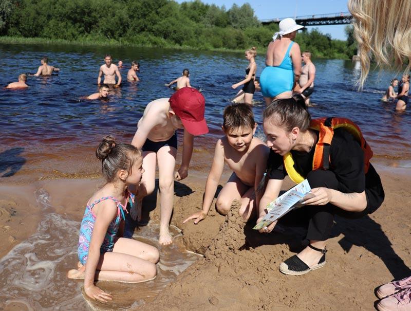В Борисове прошел рейд по пляжам. Выявлены ли нарушения?