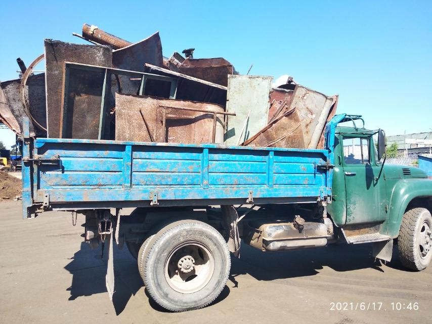За незаконную заготовку металлолома в отношении борисовчанина начат административный процесс