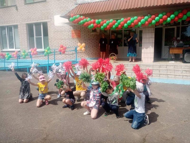 Да акцыі «Сімвалы нашай краіны» далучаюцца школьнікі