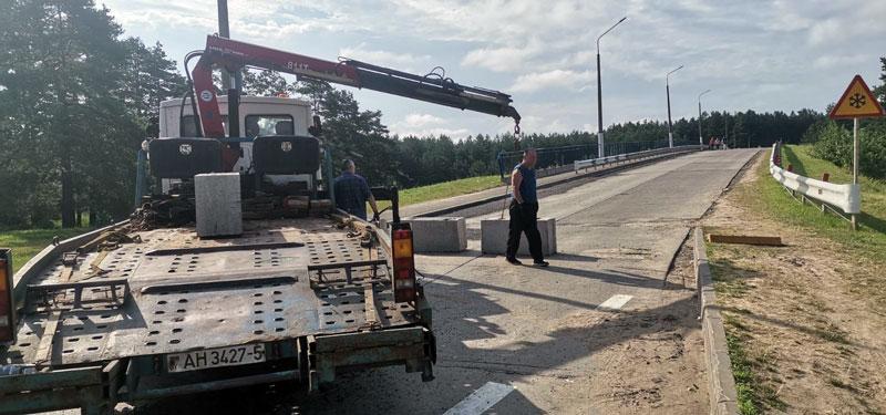 Мост в Печах отремонтирован и открыт для движения