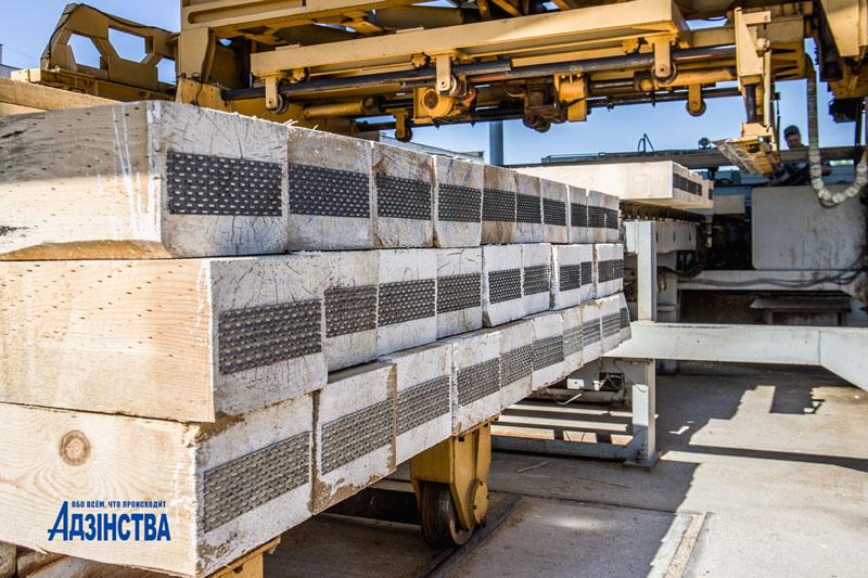 Миллион деревянных шпал – ежегодная мощность производственного конвейера ОАО «Борисовский шпалопропиточный завод»
