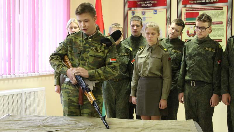 Межшкольный центр допризывной подготовки Минской области открыли в Борисове