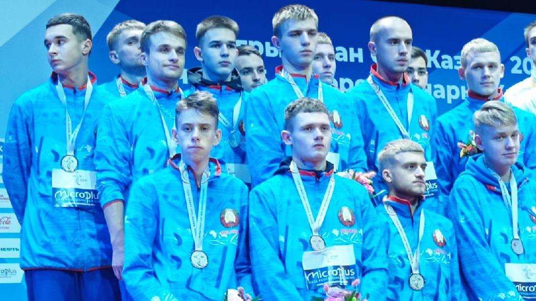 Три игрока «Борисова-900» завоевали серебряные медали I Игр стран СНГ