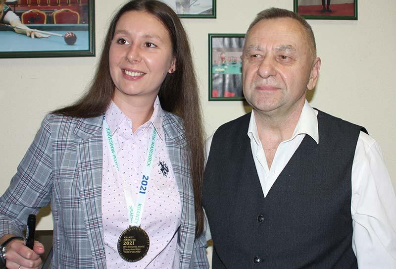 Екатерине Перепечаевой посвятили песню «Каралева більярда»