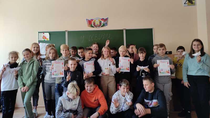 Для борисовских школьников провели квест-игру «У ОСВОДа нет плохой погоды»