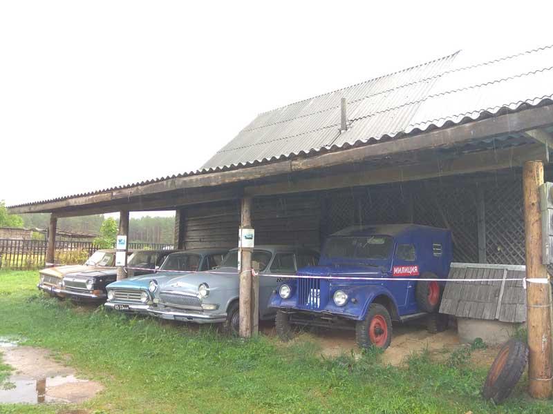 Ретро-автомобили и музей столетней давности: интерактив по-вилейски
