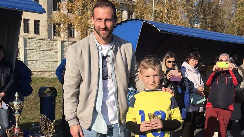 Команда БАТЭ 2013 года рождения — победитель футбольного турнира на призы Игоря Стасевича